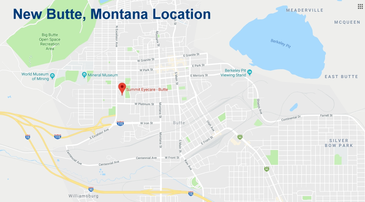 Summit Eyecare Opens Office in Butte, Montana