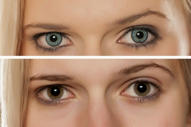 Opaque color tint cosmetic contact lenses in Idaho Falls, Pocatello, Rexburg, St. Anthony and Butte.